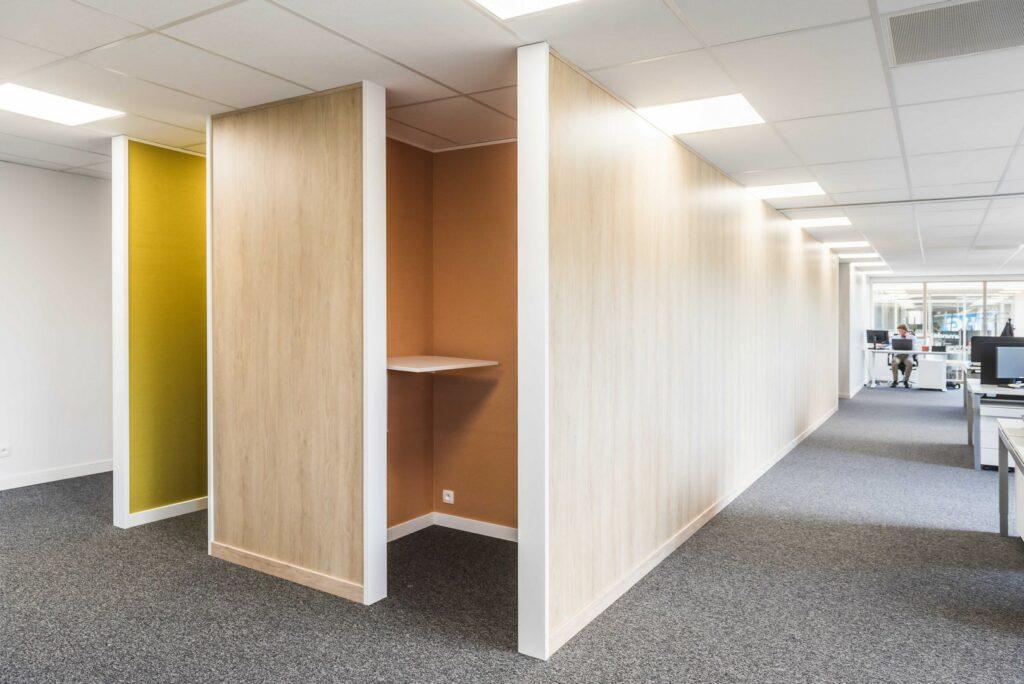Modulaire kantoorwanden voor elk interieur