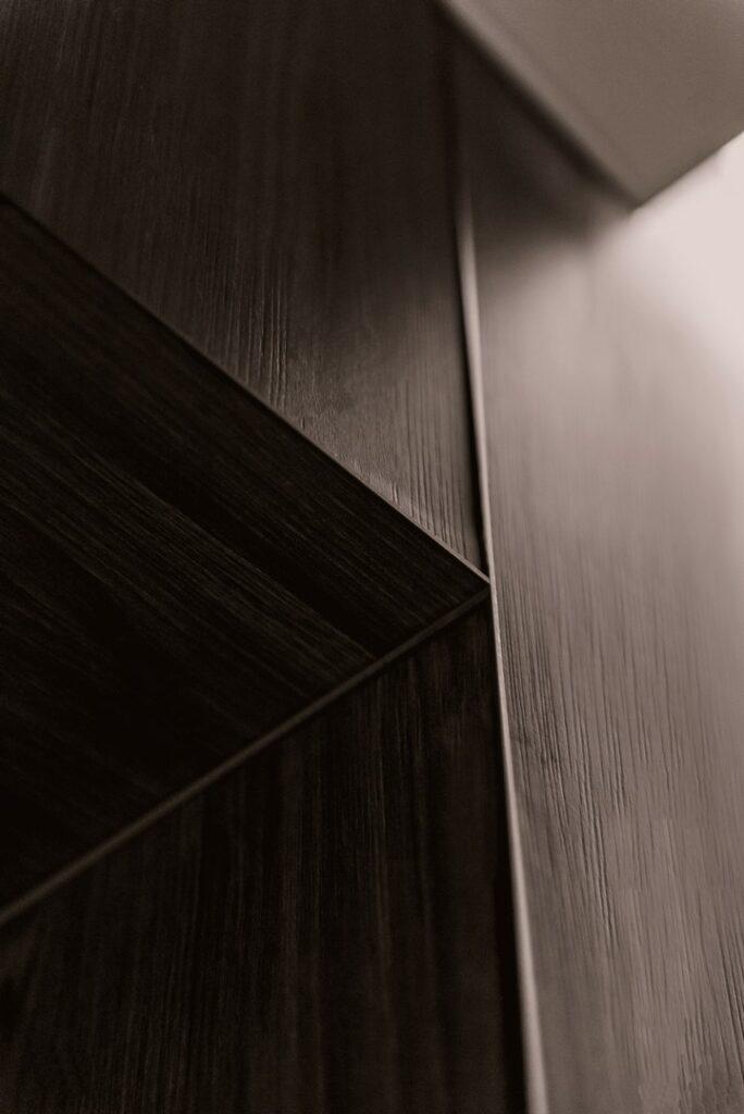 Scheidingswand hout