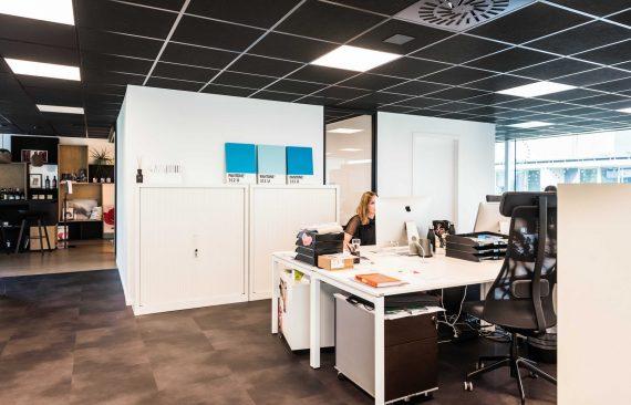 Decoratieve mobiele wanden kantoor